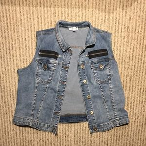 Tribal jeans denim jacket! Size XL!